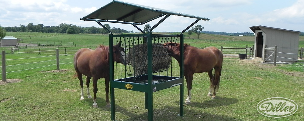 rack brownfeeder open the feeder closed automatic hay side both feeders four for with feeding automated horse doors