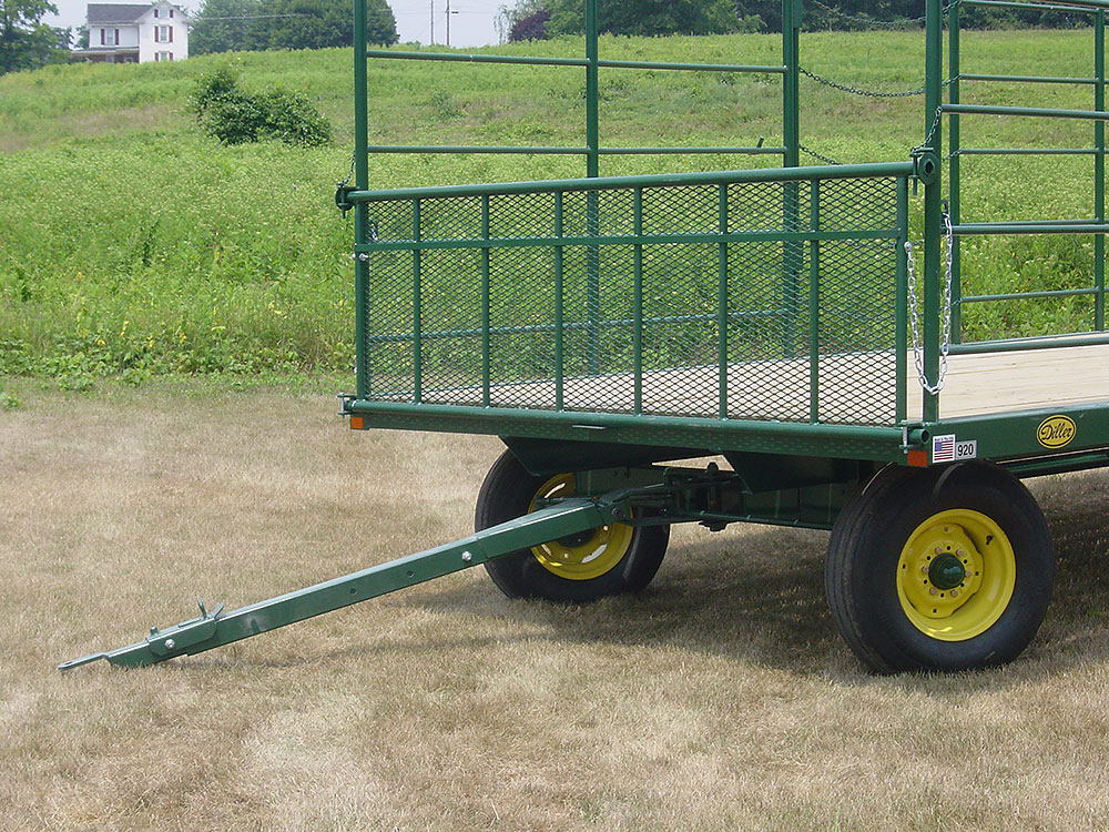 Diller classic bale wagon