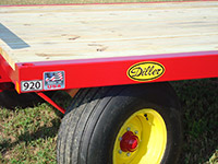 Diller Standard Duty Flatbed Wagon