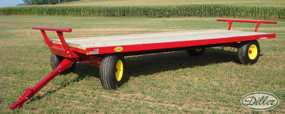 Diller Standard Flatbed Wagon